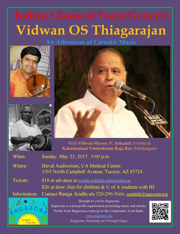 Indian Classical Vocal Concert by OS Thiagarajan